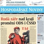 Article in Hospodarske noviny - New in Publications