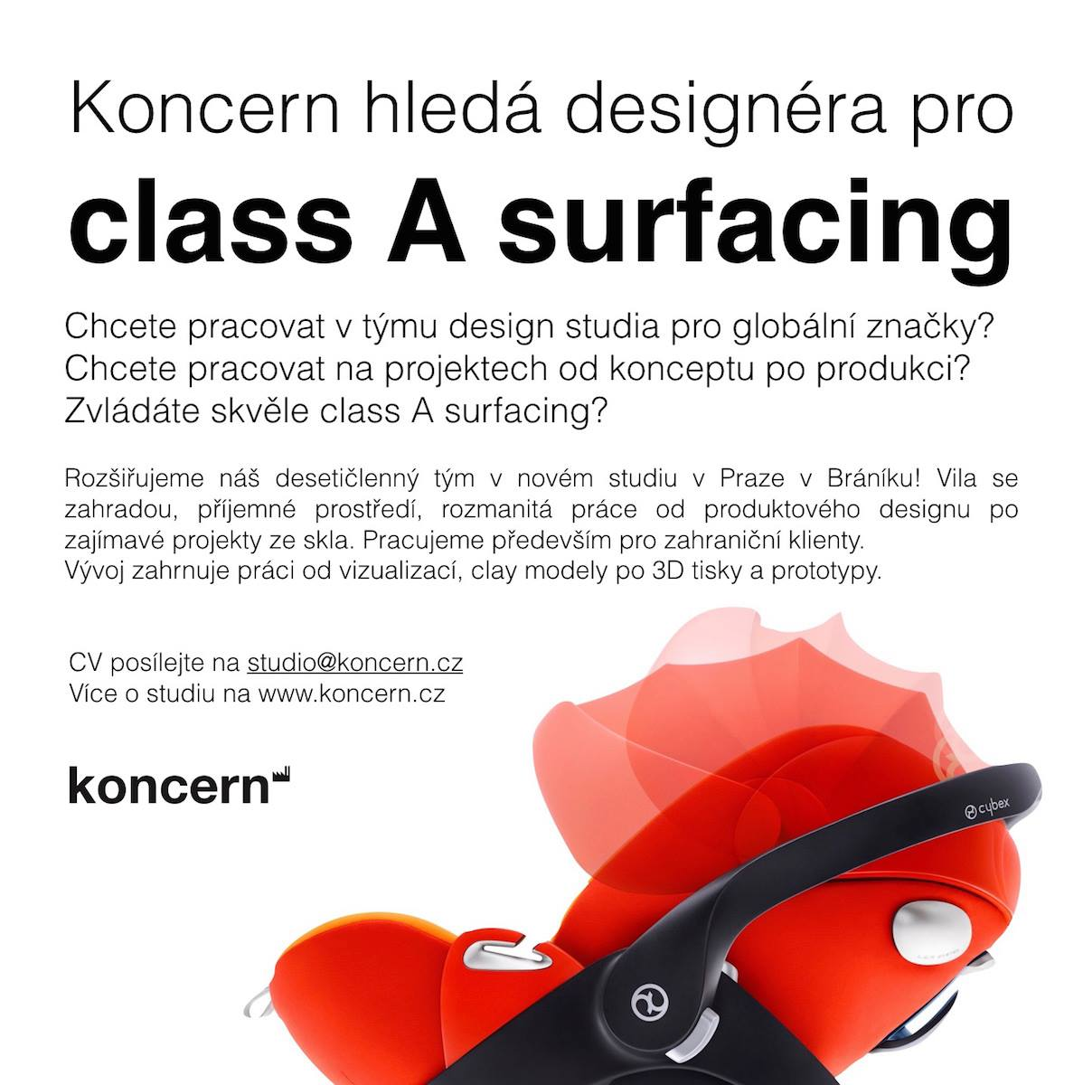 Designer for class A surfacing wanted!