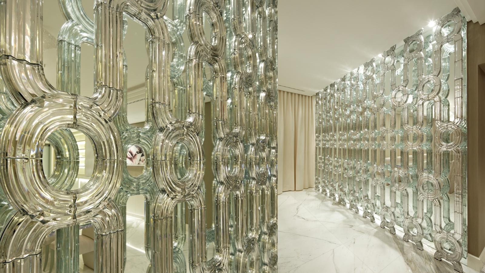 Designed bathrooms - Lasvit Crystal Wall Koncern